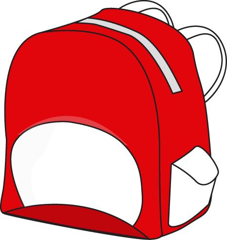 Backpack clipart small.