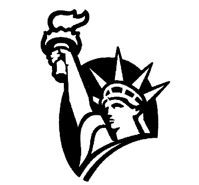 statue of liberty clipart simple