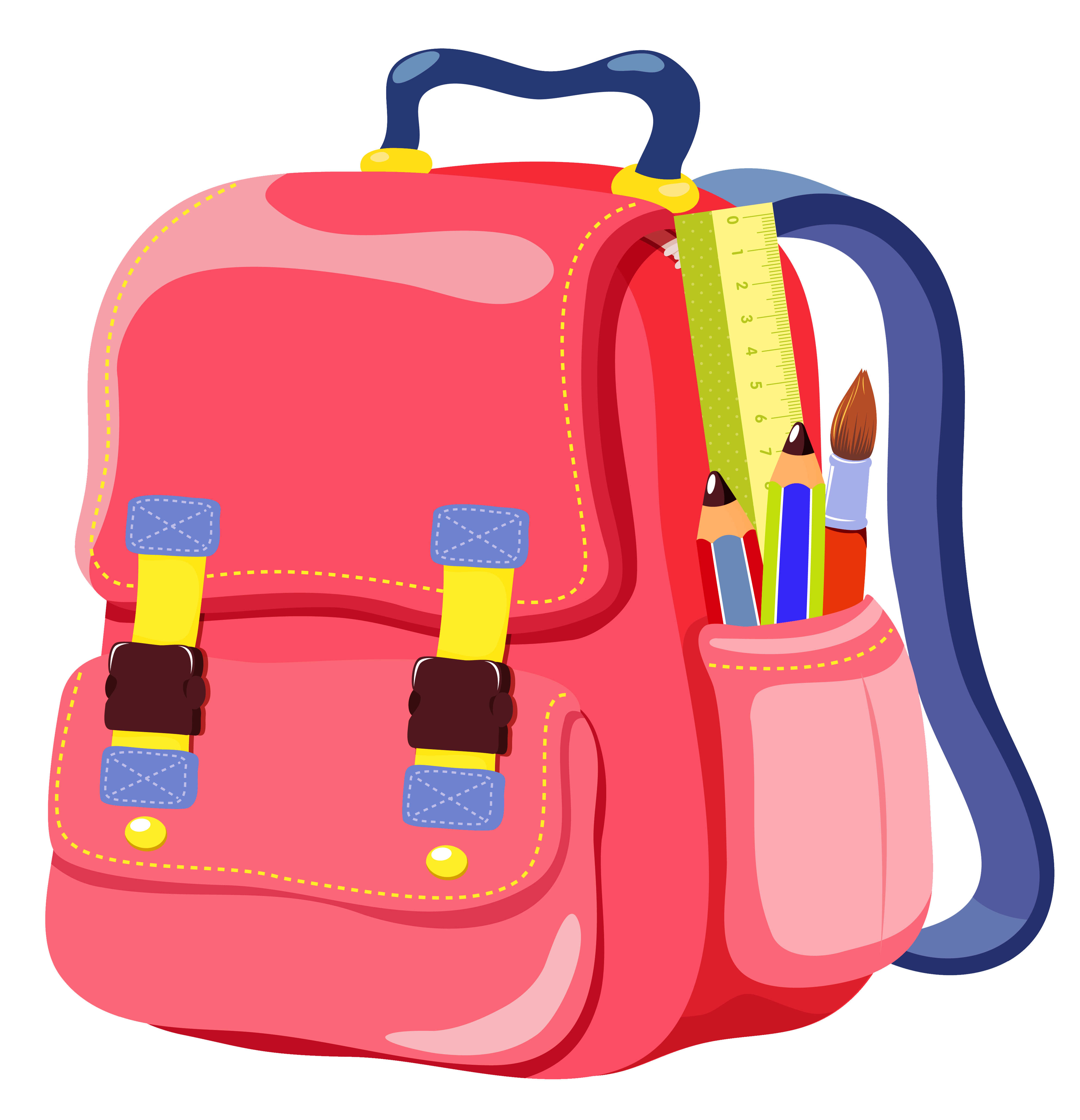 backpack clipart transparent background