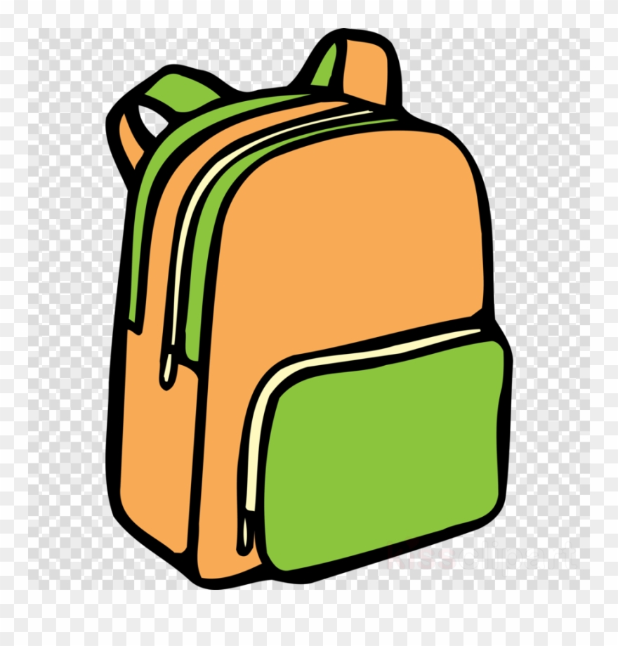 backpack clipart easy draw