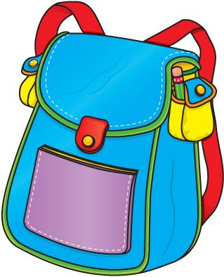 backpack clipart accessories
