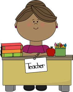 Teacher clipart.