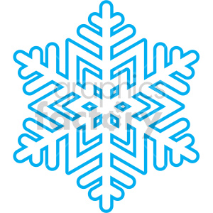 Free winter clipart snowflake.