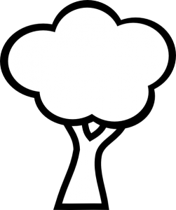 Clipart black and white simple.