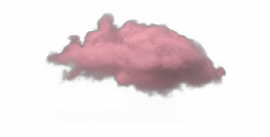 Clouds clipart red.