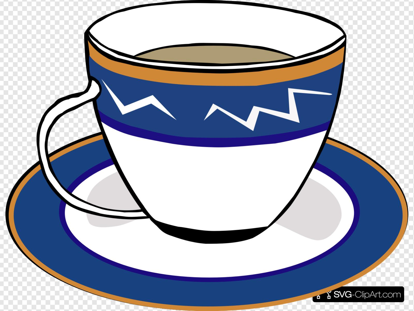Coffee clipart svg.