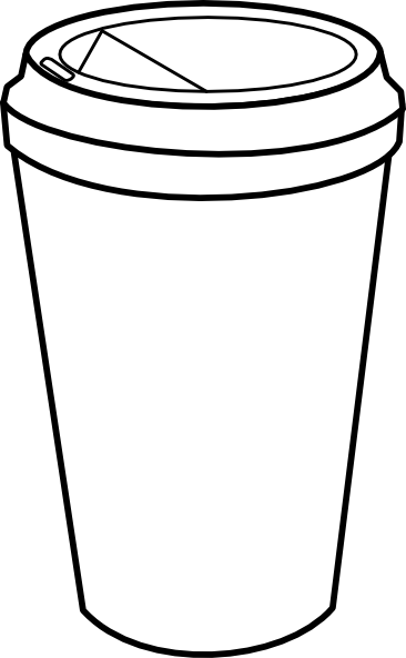 starbucks cup clipart blank