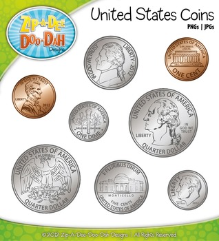 penny clipart united states