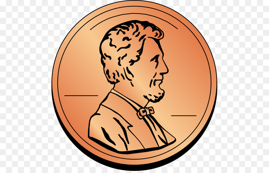 penny clipart cent