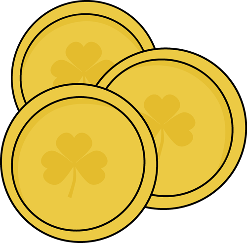 st patrick-s day clipart gold