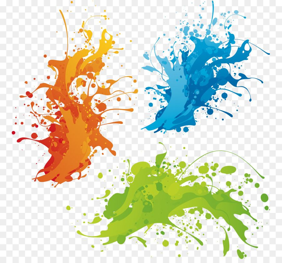 Colors clipart background.