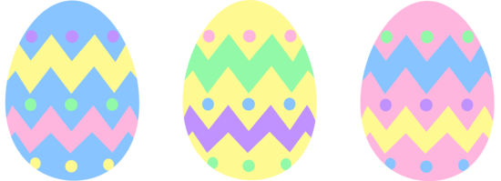 easter egg clipart pastel
