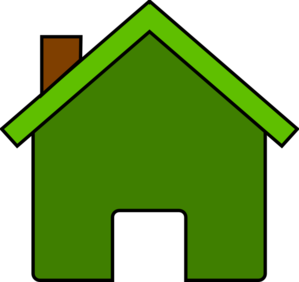 home clipart green