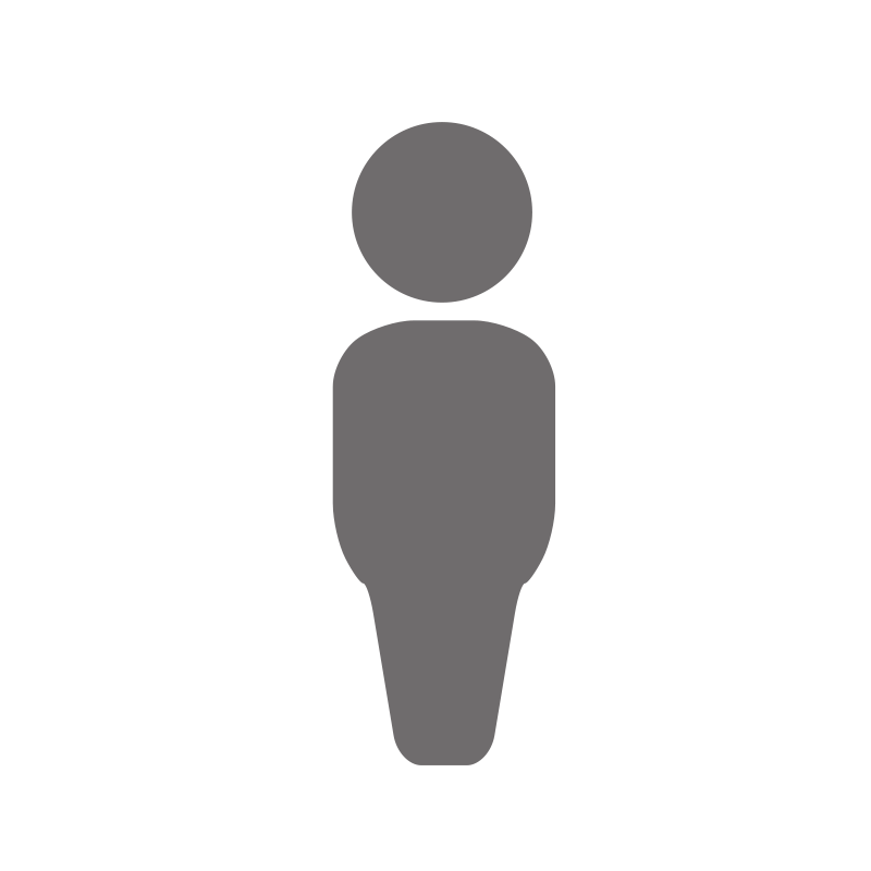 person silhouette clipart basic