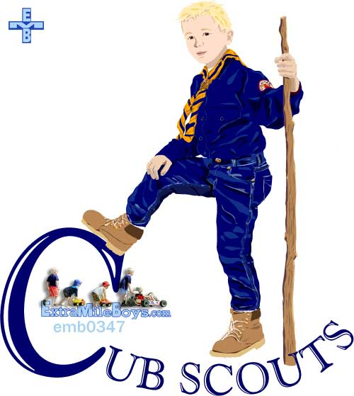 Comprised clipart cub scouts.