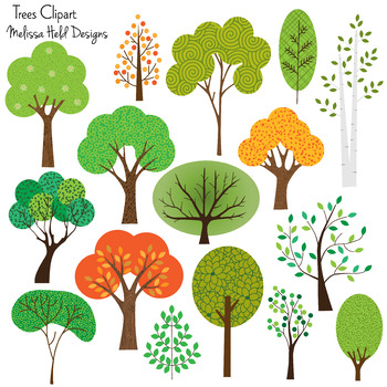 Comprised clipart greenery.