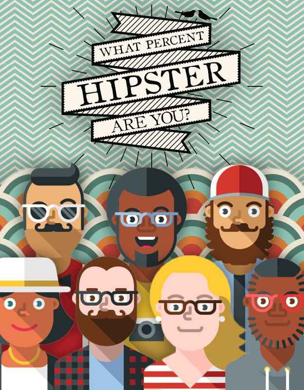 comprised clipart hipster