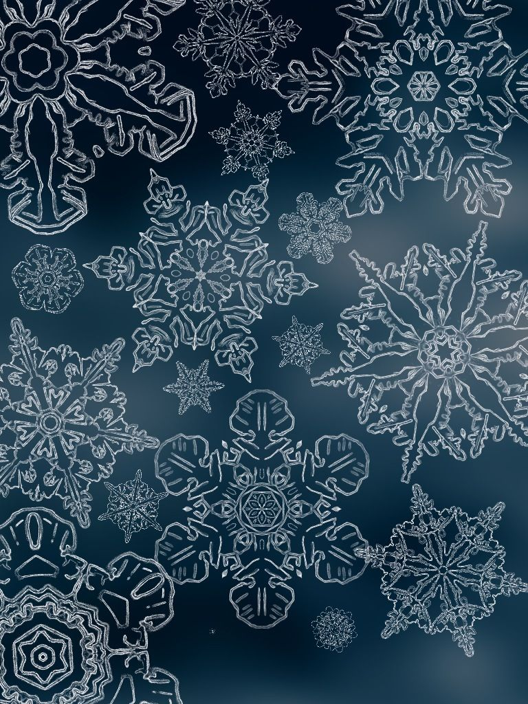 Comprised clipart snowflake.