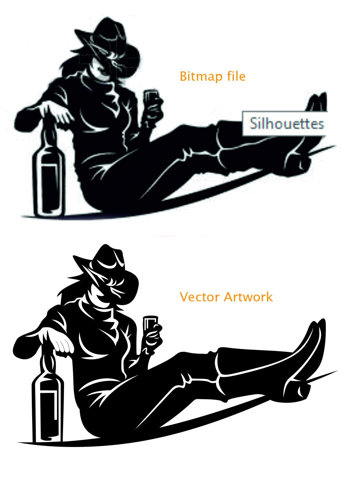 Comprised clipart vector illustration.
