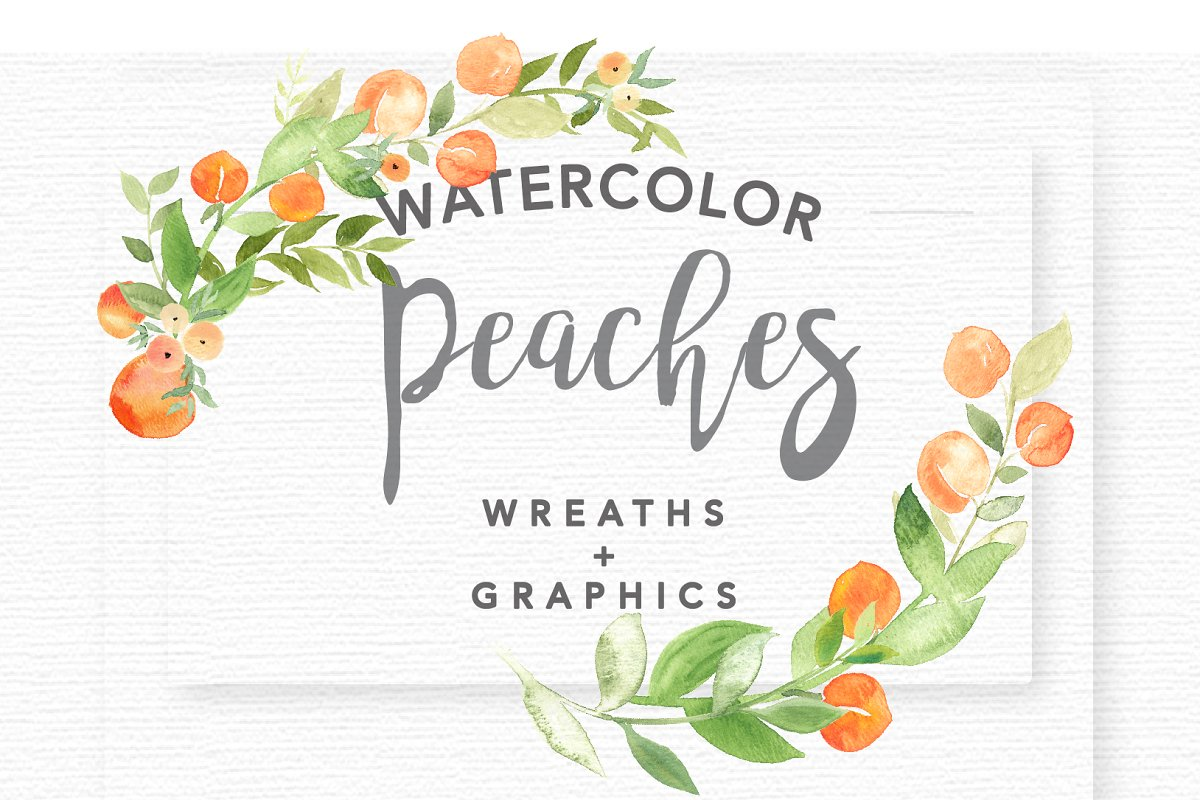Comprised clipart watercolor.