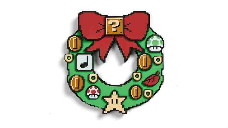 Comprised clipart wreath.