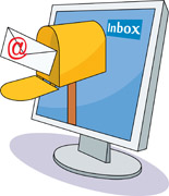 email clipart inbox