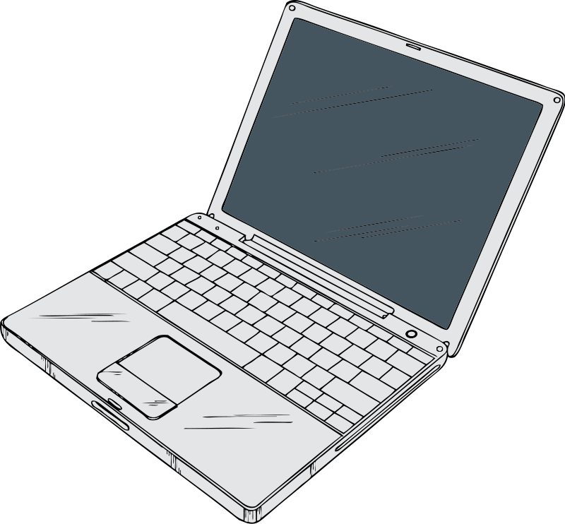 laptop clipart clear background