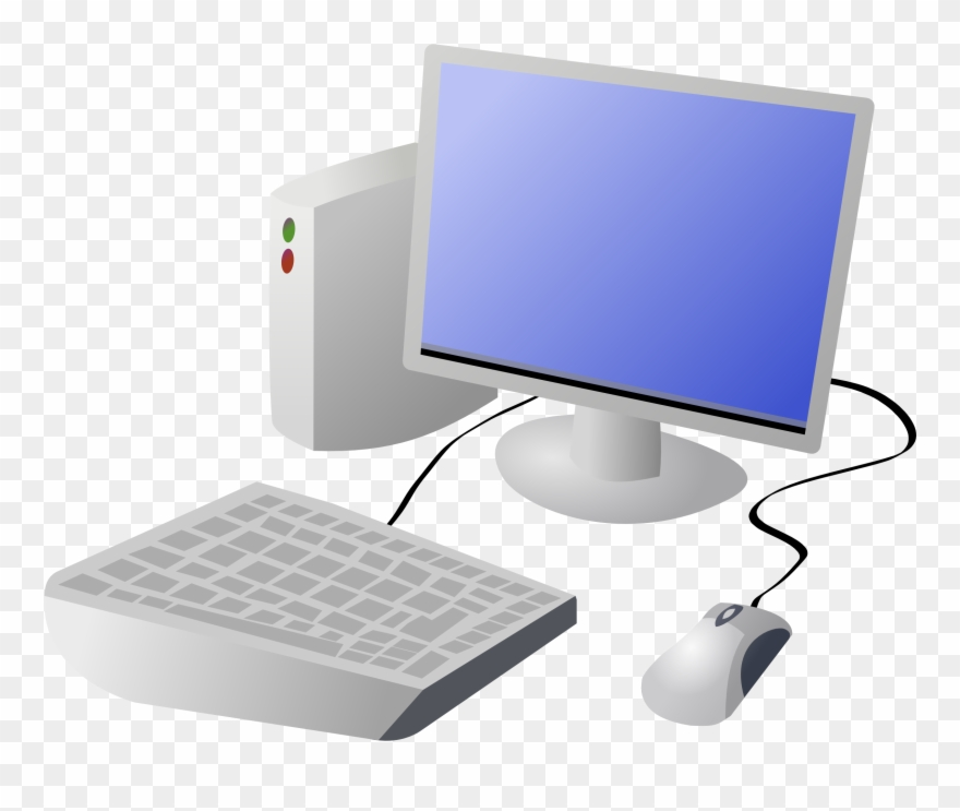 Computer clipart transparent background.