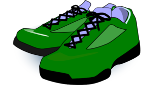 clipart shoes green