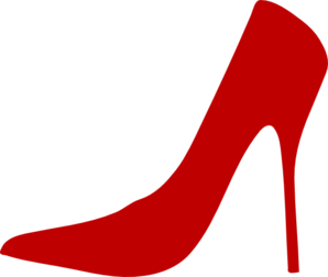 clipart shoes red