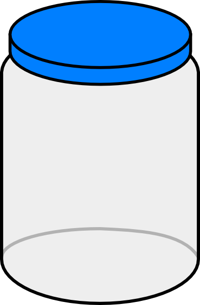 jar clipart empty