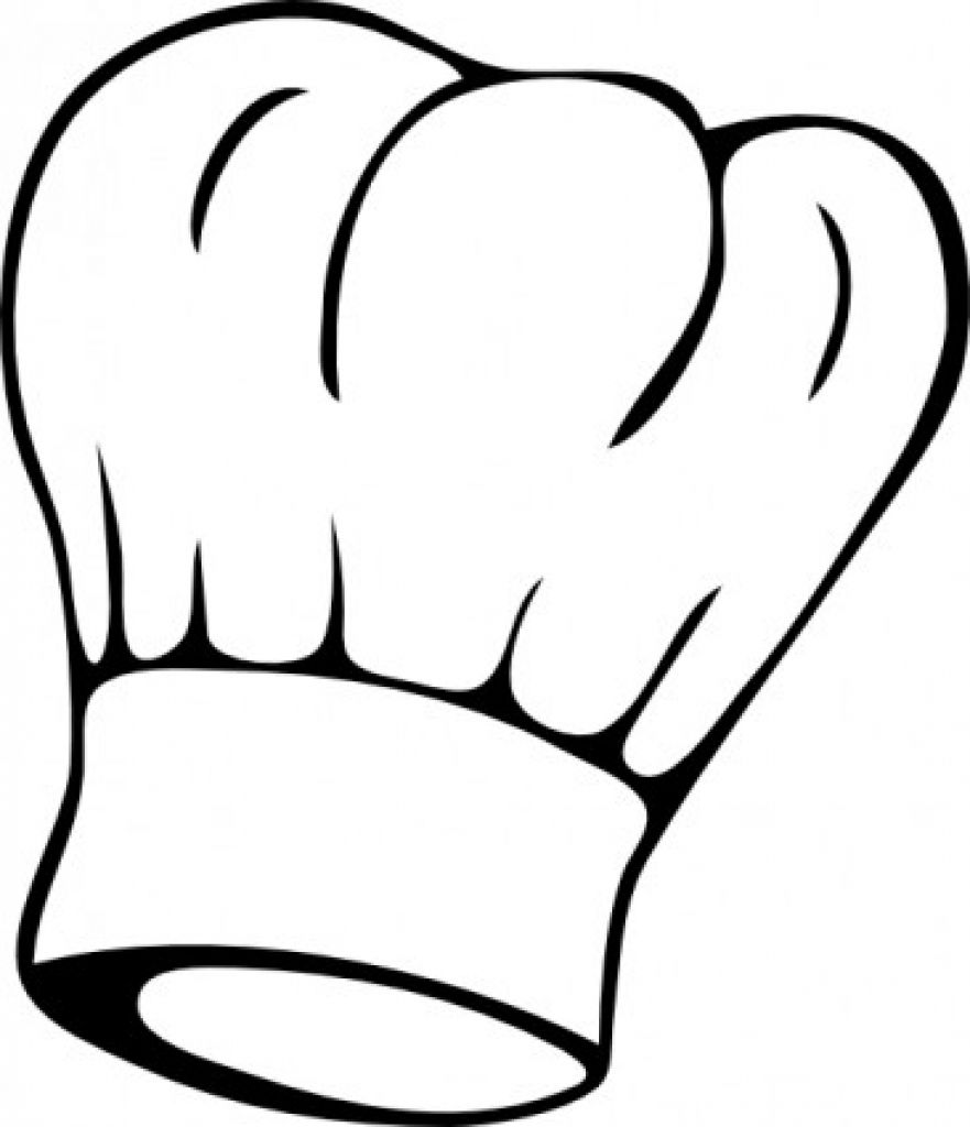 chef hat clipart color