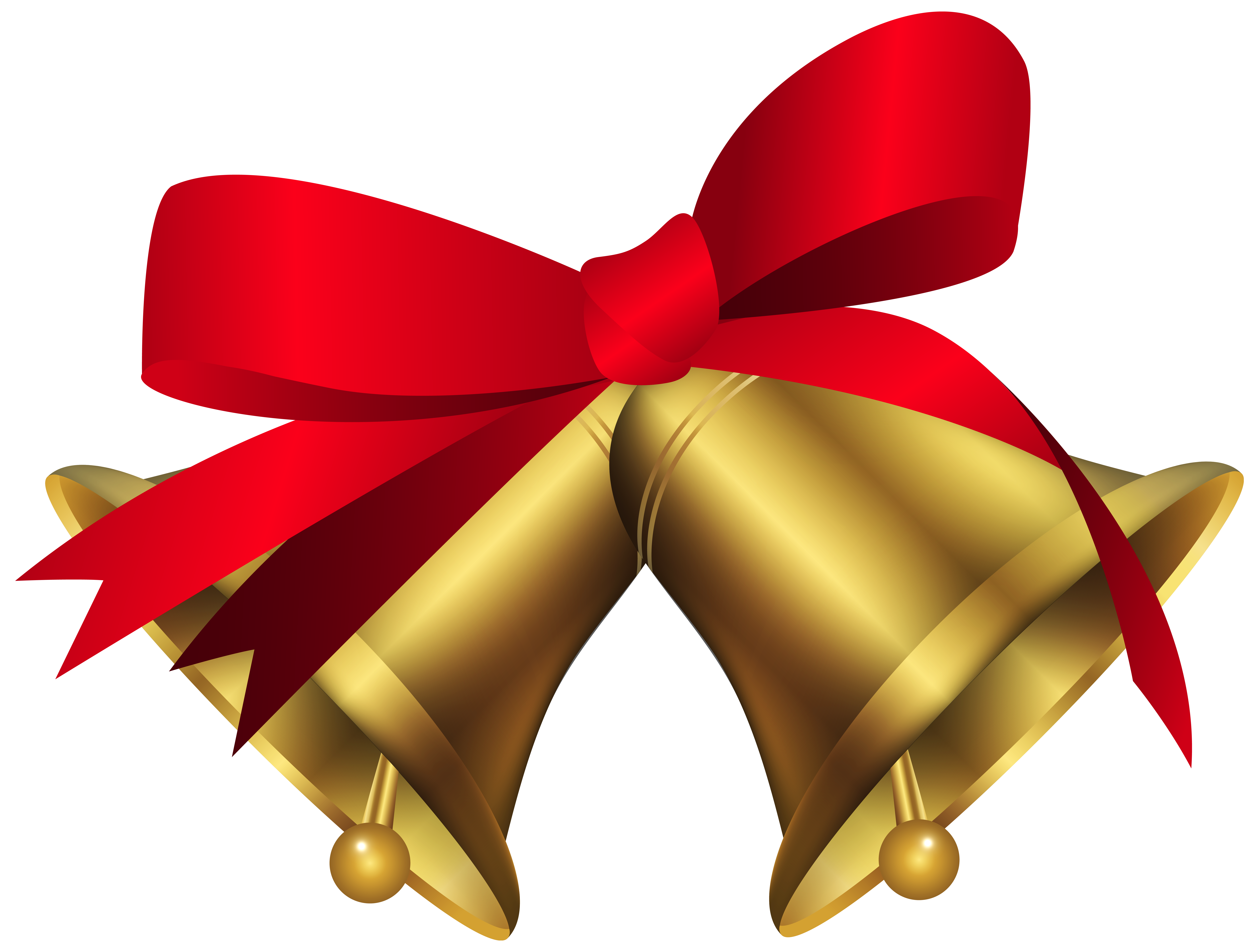 Bow clipart red christmas.