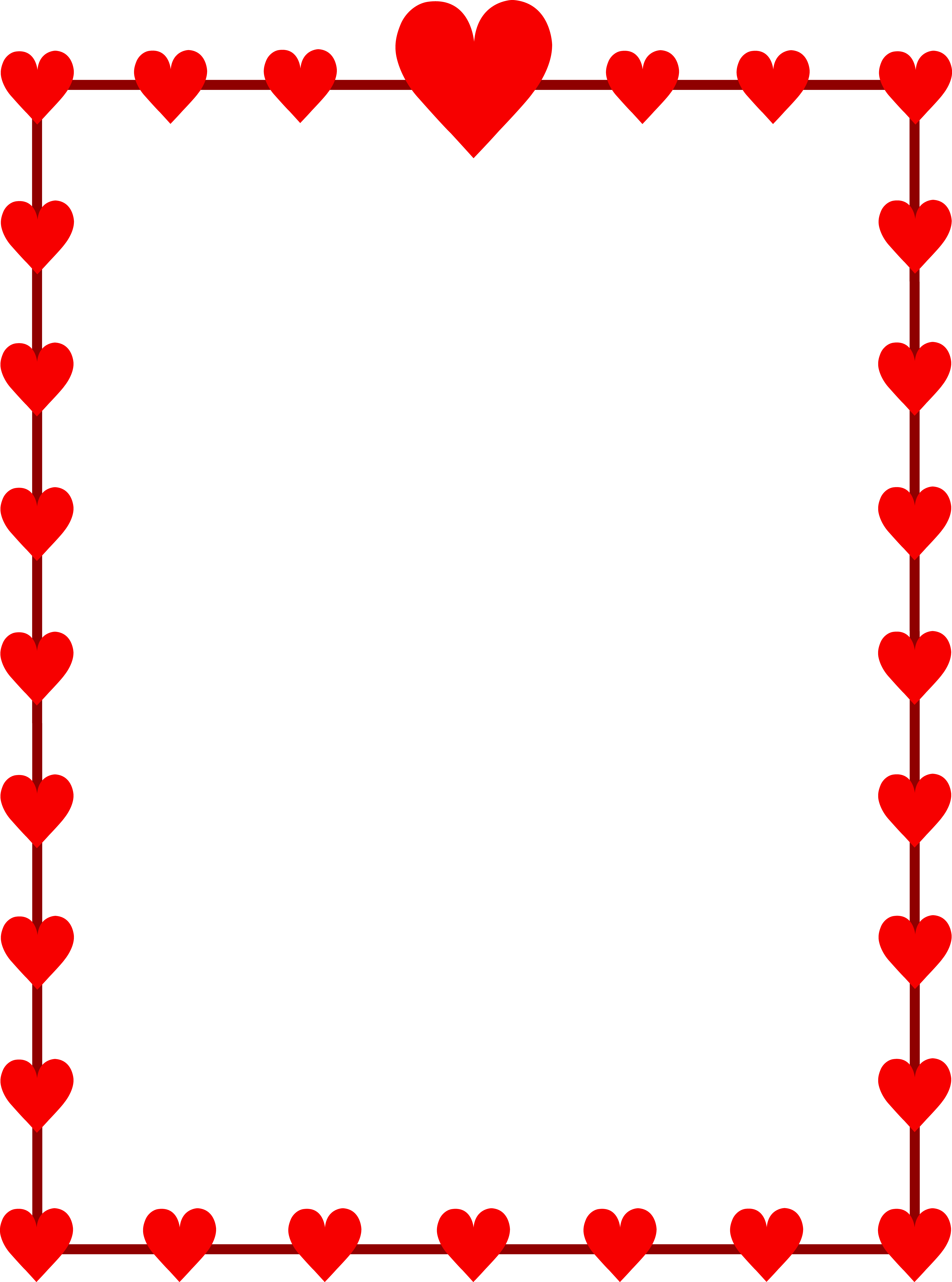 valentine day clipart free heart design