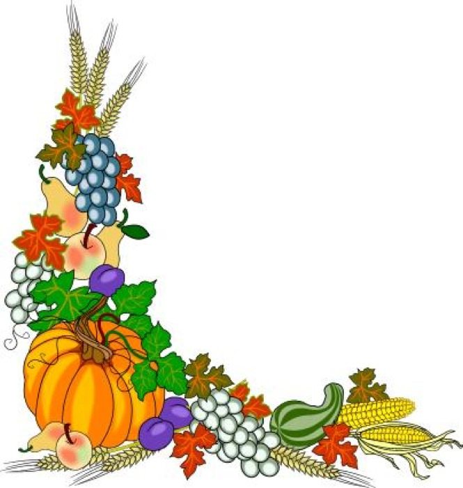 fall images clipart harvest