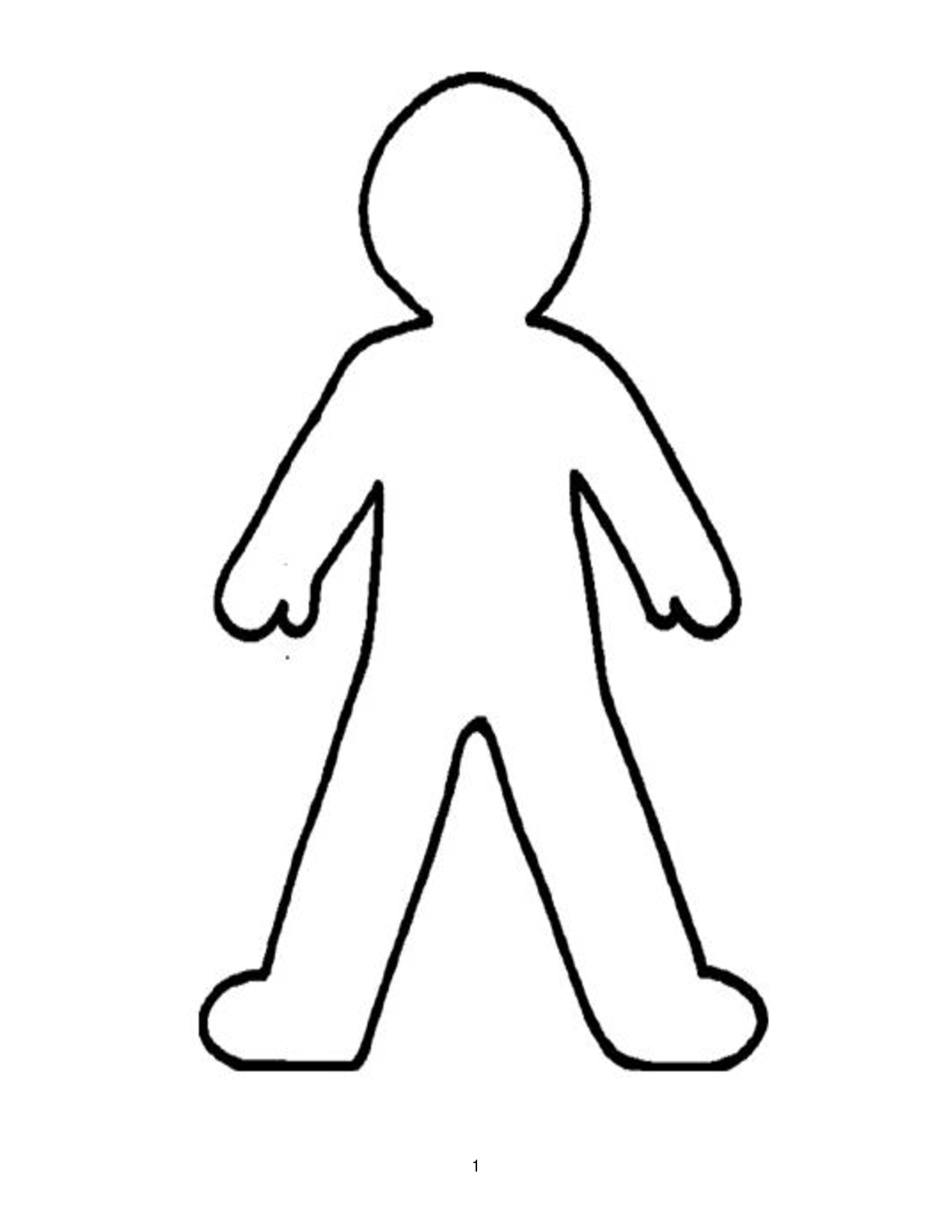 body clipart drawing