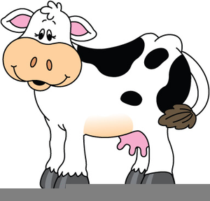 chick fil a logo clipart cow