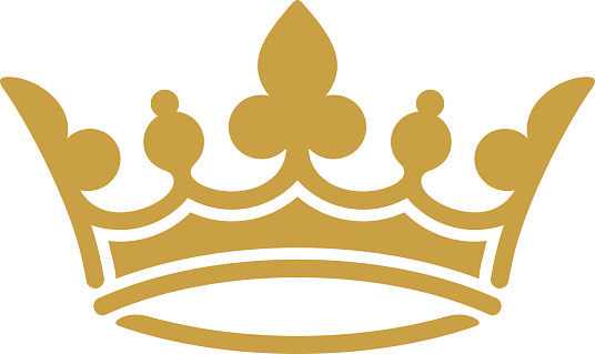 queen crown clipart gold