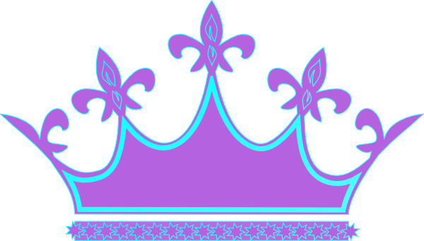 queen crown clipart purple