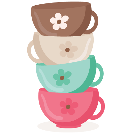 Cups clipart svg.