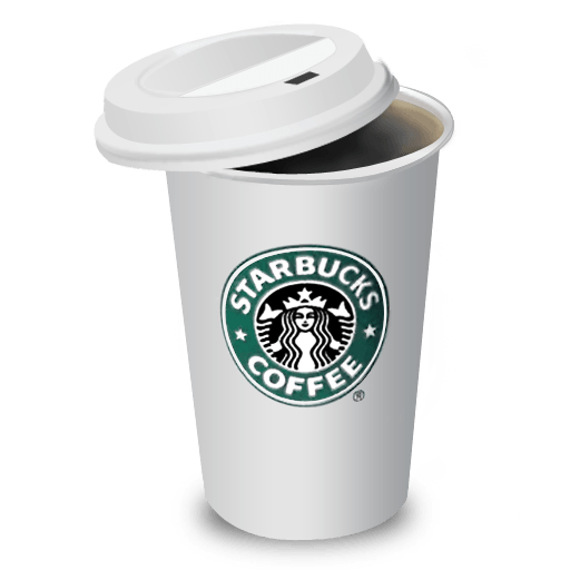 starbucks cup clipart transparent coffee