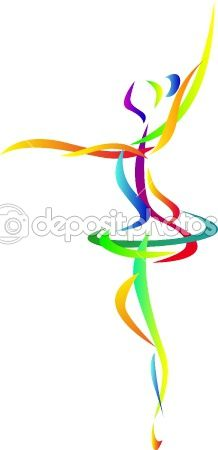 dancer clipart abstract