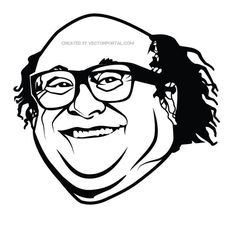 danny devito clipart high school drawing