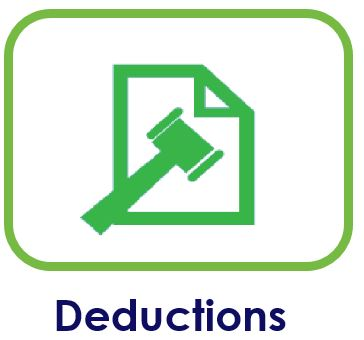 Deductions clipart form.