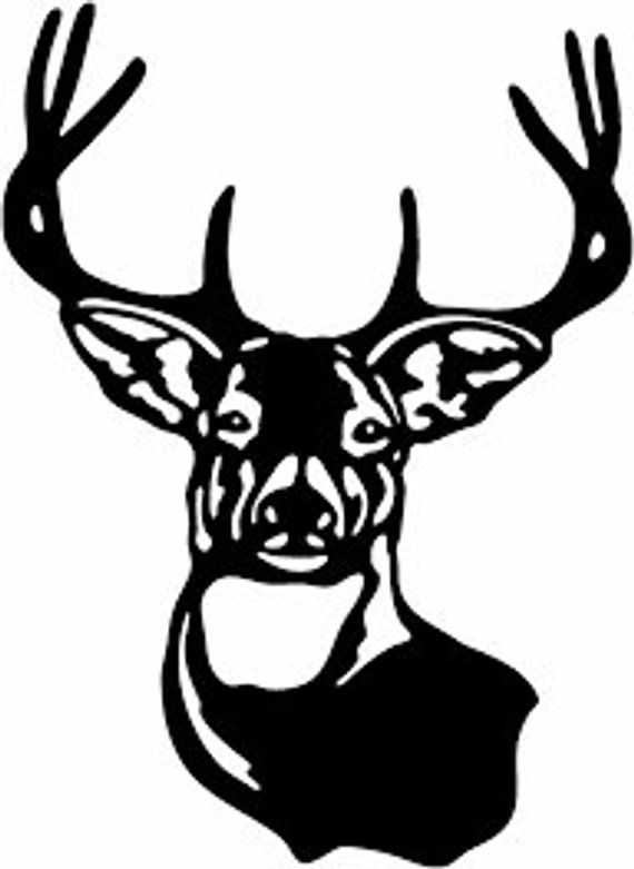 deer head clipart hunting