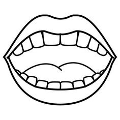 Dentist clipart mouth.