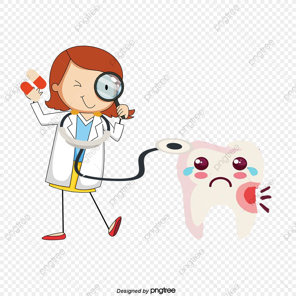 Tooth clipart dentist visit.