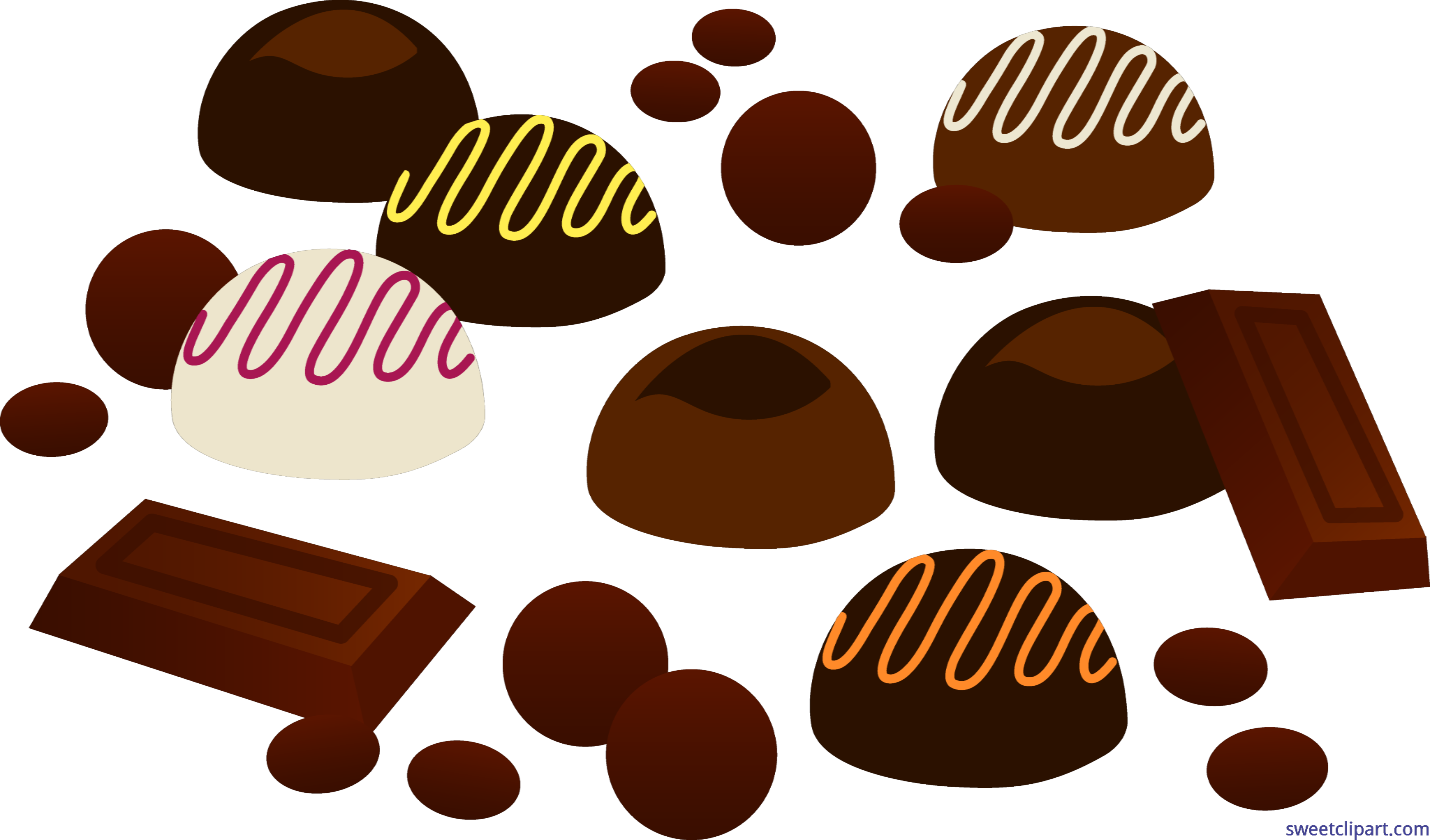 Dessert clipart assorted.