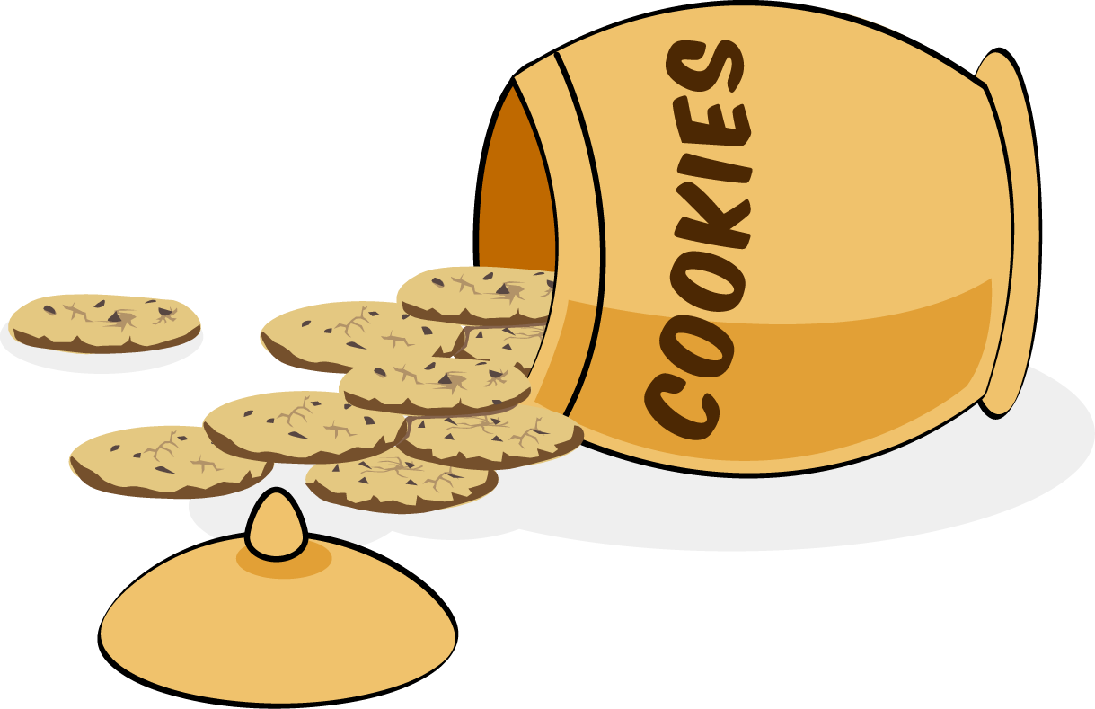 jar clipart cookie