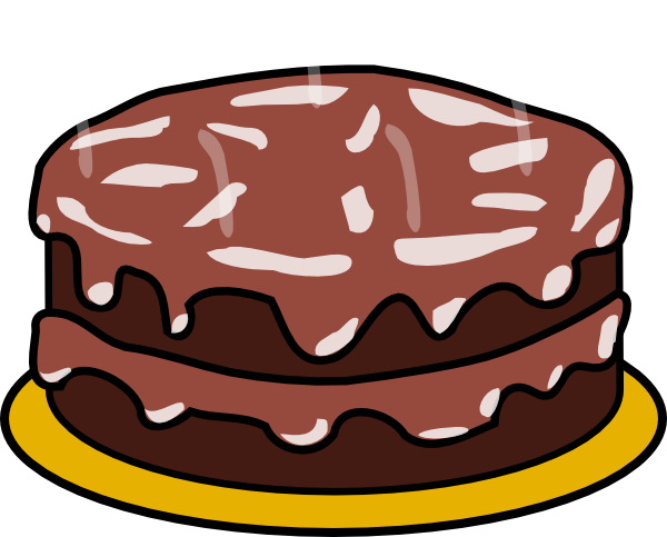 cake clipart chocolate